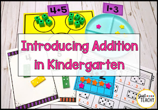 Introducing Addition in Kindergarten