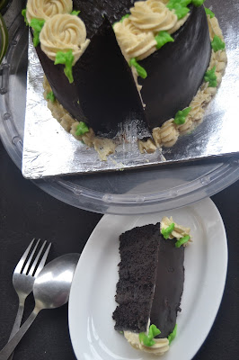 Slice of Mud Cake
