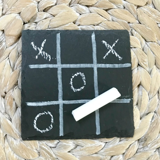 DIY Tic-Tac-Toe Chalkboards