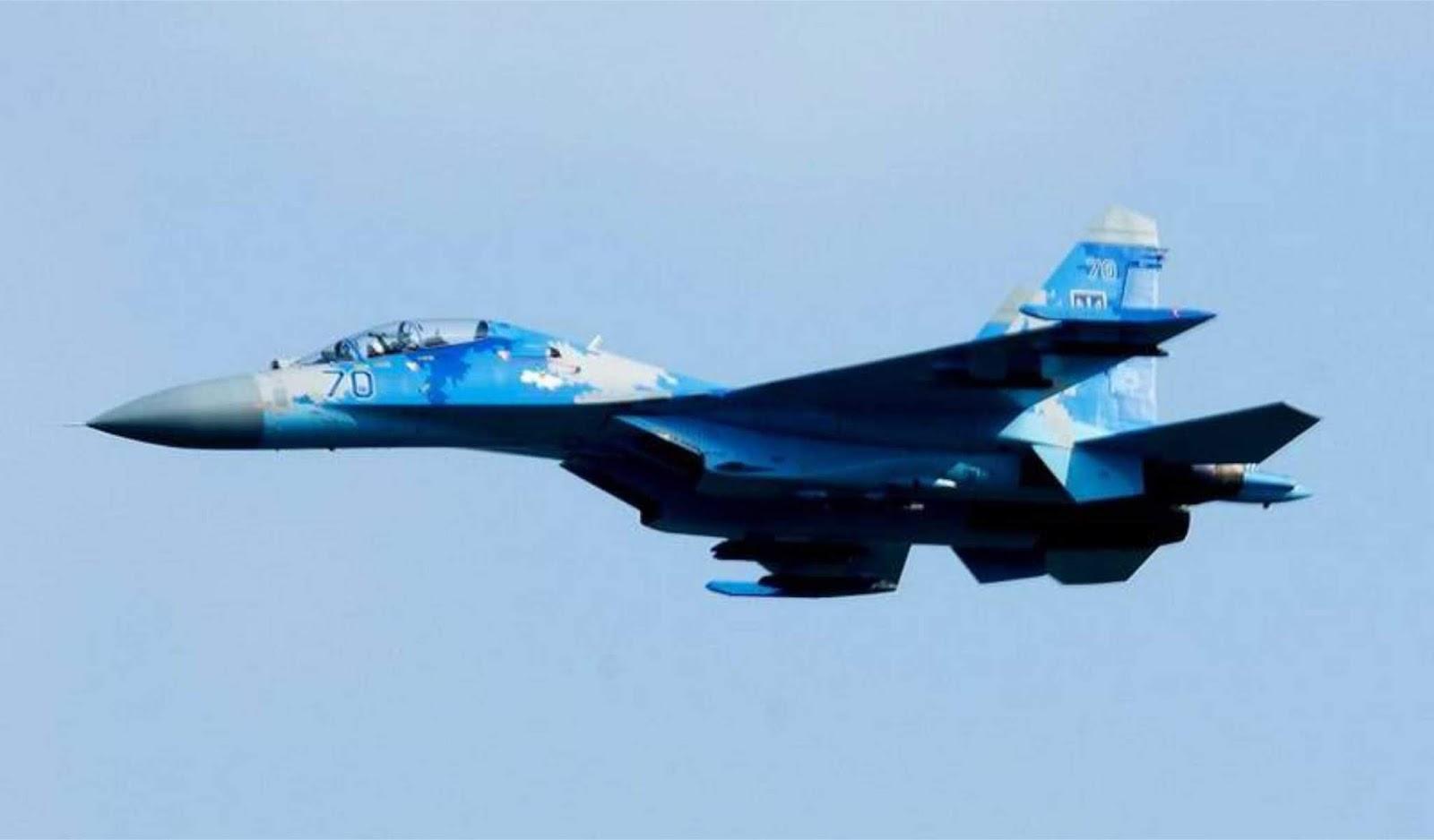 Su-27 di Ukraina yang jatuh belum diperbaiki selama 27 tahun
