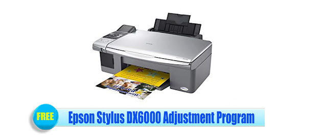 Epson Stylus DX6000 Adjustment Program