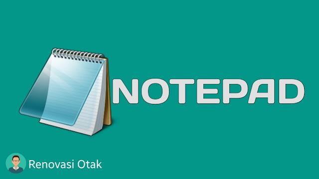 Membuat Program melalui Notepad