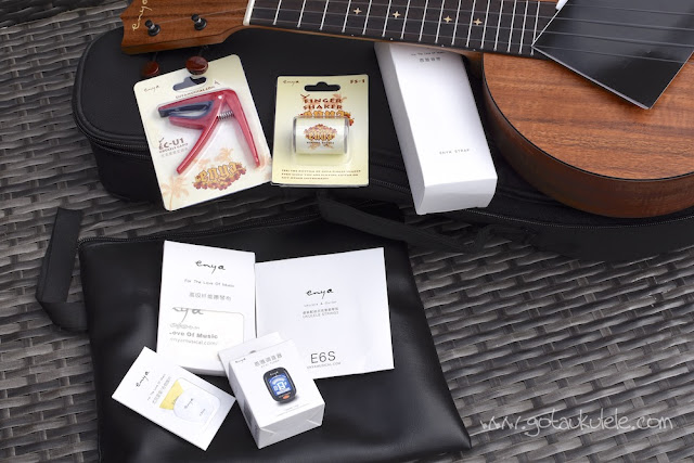 Enya EUR-X1 Ukulele accessories