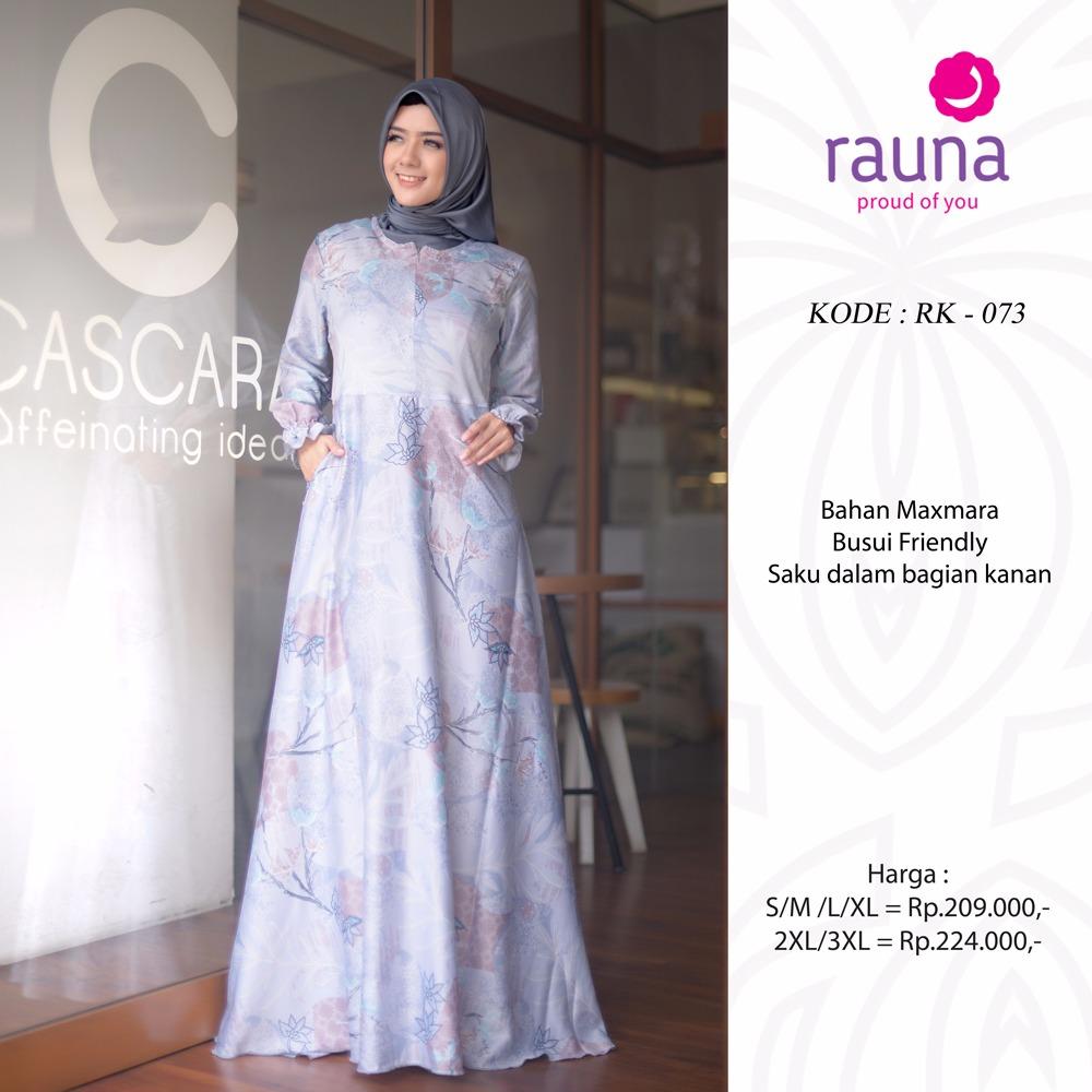 Koleksi Gamis Muslimah Terbaru Rauna Rk 071 074