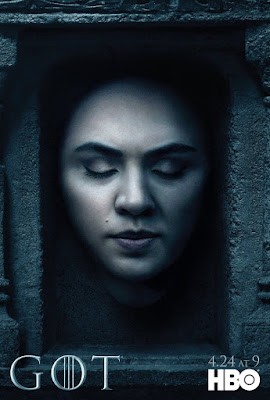 "Game of Thrones Season 6 ""Hall of Faces"" Teaser Character Television Poster Set"
