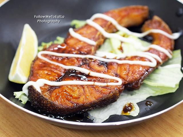 Pan Fried Salmon With Teriyaki Sauce