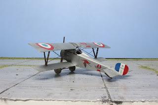 Nieuport 17 d'Eduard au 1/48.