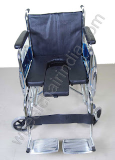 Commode Wheelchair Rainbow 6