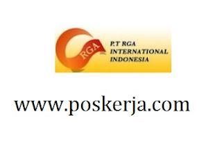 Lowongan Kerja Terbaru  PT RGA International Indonesia Juli 2017