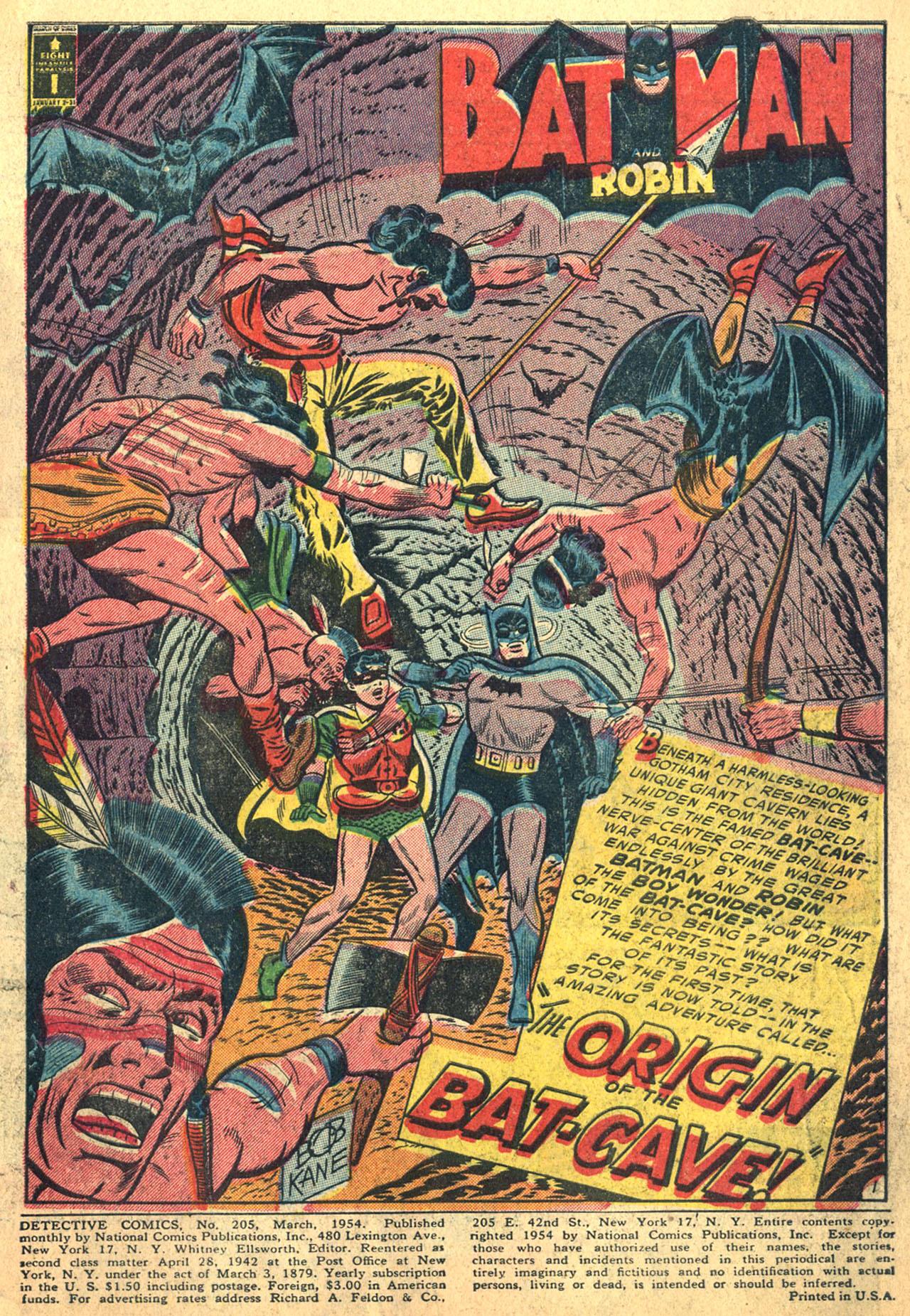 Detective Comics (1937) 205 Page 2