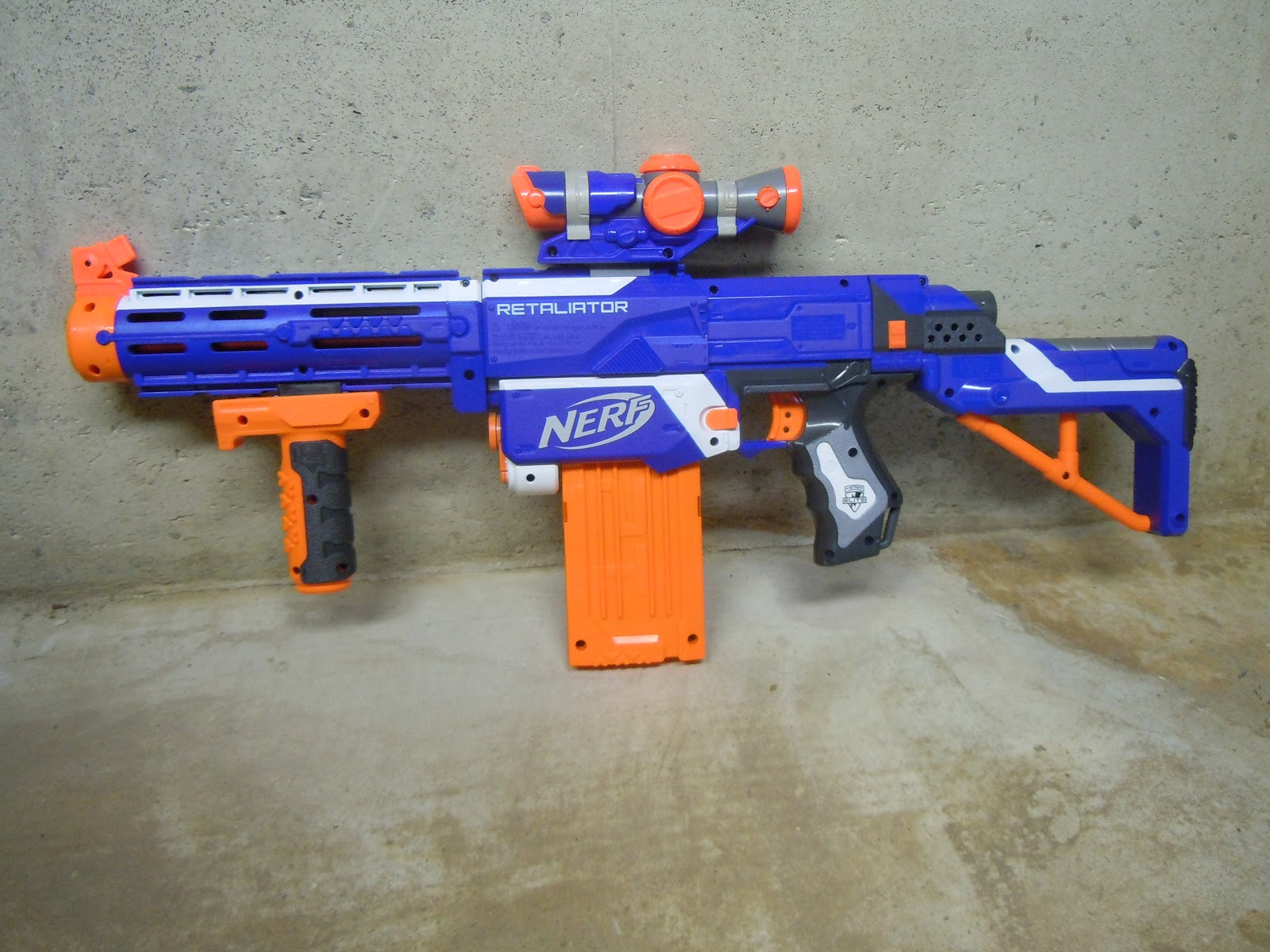 Lasagna678 Nerf Mods First Look N Strike Elite
