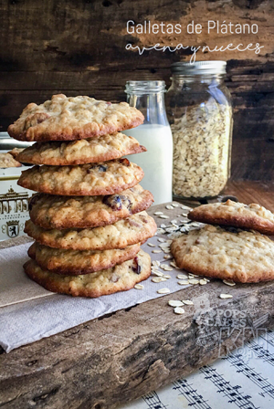 recetario-reto-disfruta-platano-recetas-dulces-galletas-avena