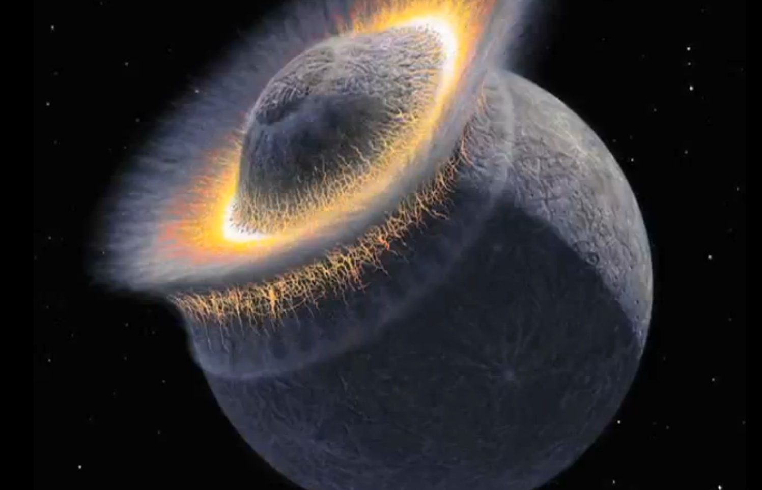 Earth's Planets Crashing (page 2) - Pics about space