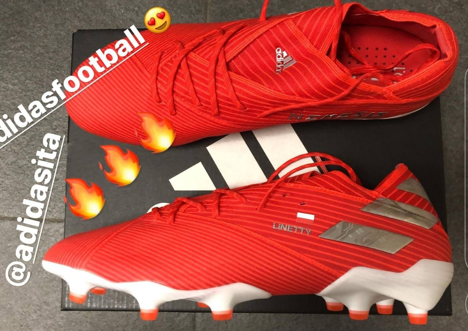 f3ca2781a26 Likely the most interesting boot of the collection, the next-generation  Adidas Nemeziz 19 cleats bring us many new tech features such as a two  split sole ...