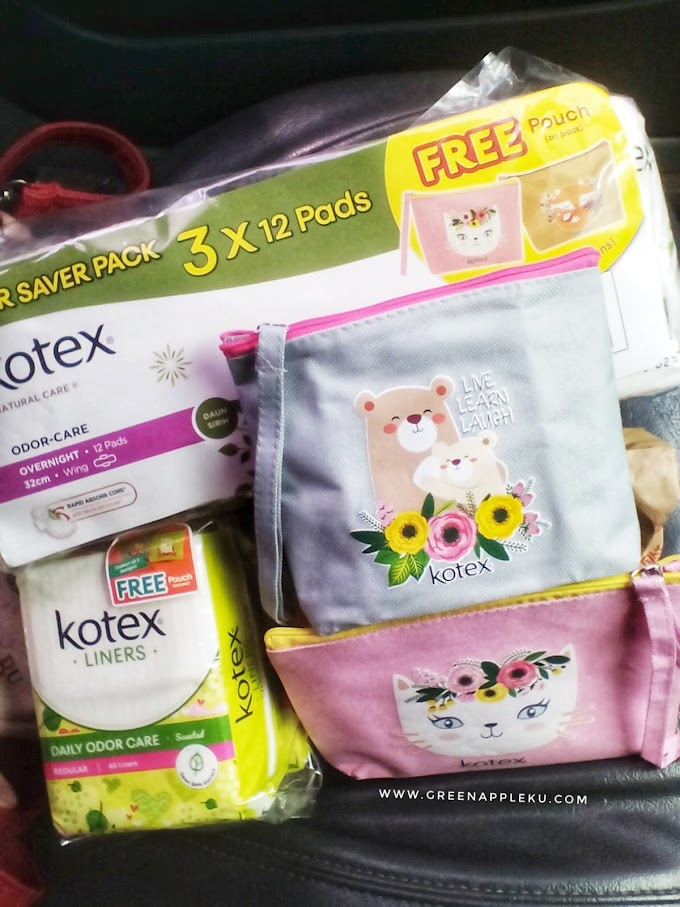 Free Pouch From Kotex.