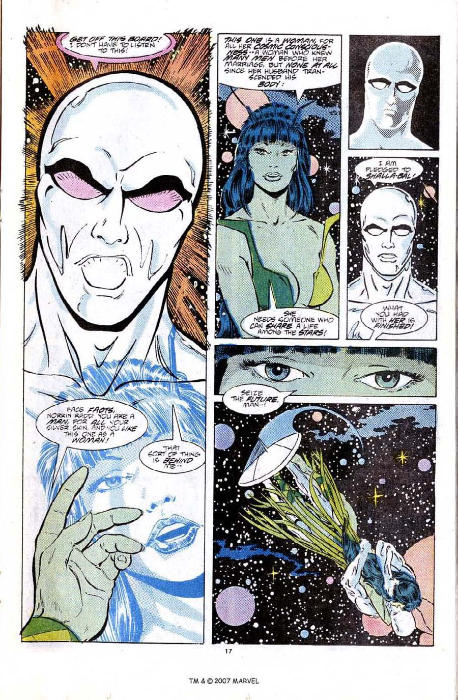 Read online Silver Surfer (1987) comic -  Issue #6 - 25
