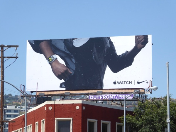 Apple Watch Nike+ billboard