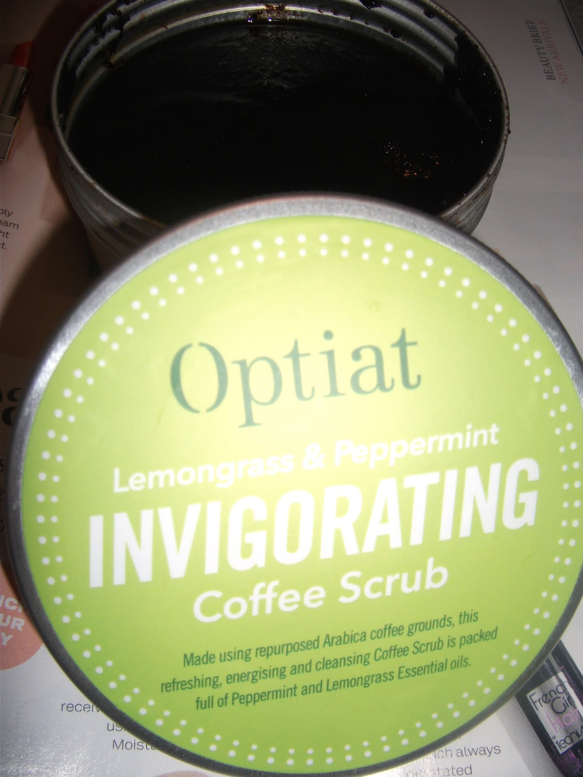 Jumping On The Coffeescrub Trend With Optiat Sunshinesarahxo