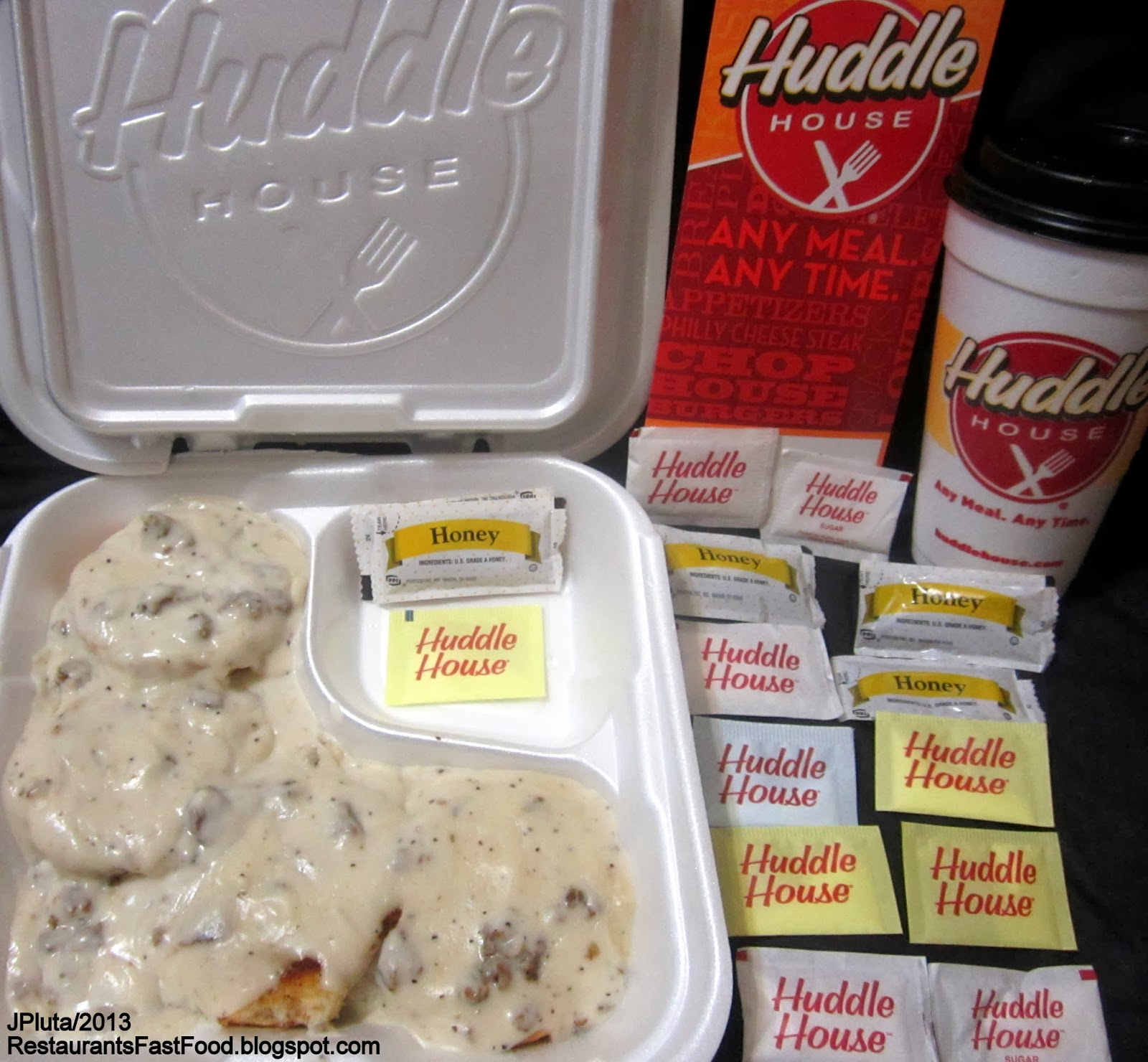Restaurant Fast Food Menu McDonalds DQ BK Hamburger Pizza Mexican