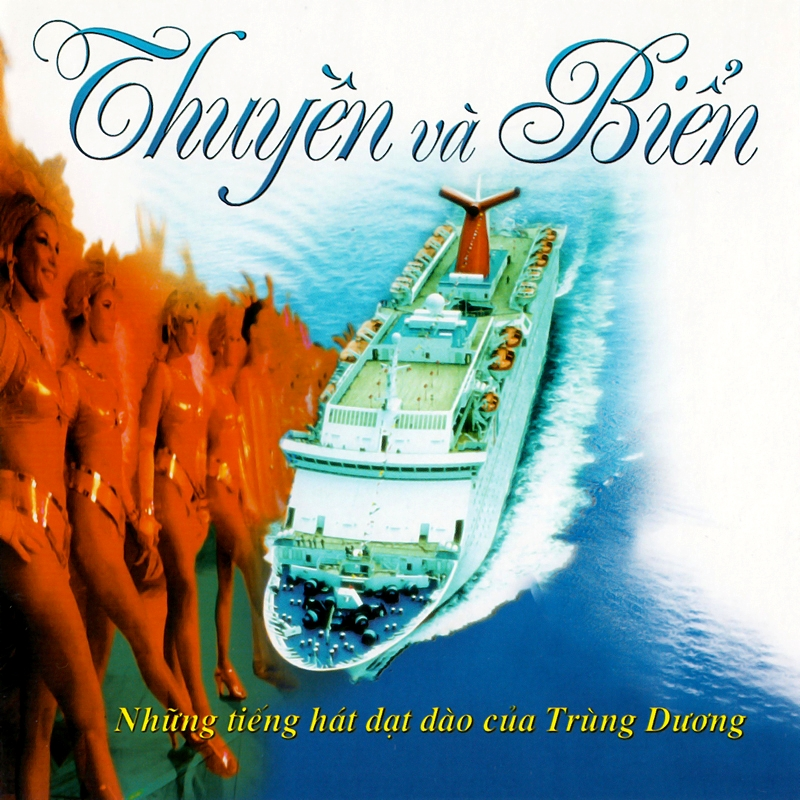 Viên Thao CD - Thuyền Và Biển (NRG) + bìa scan mới