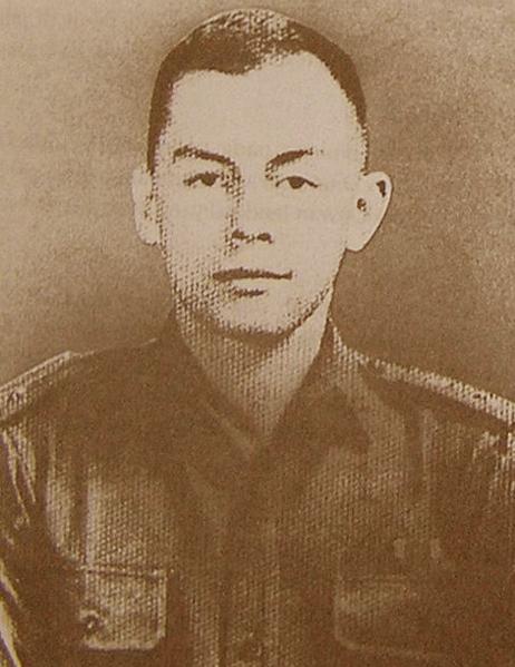 Foto Letnan Satu Pierre Andreas Tendean