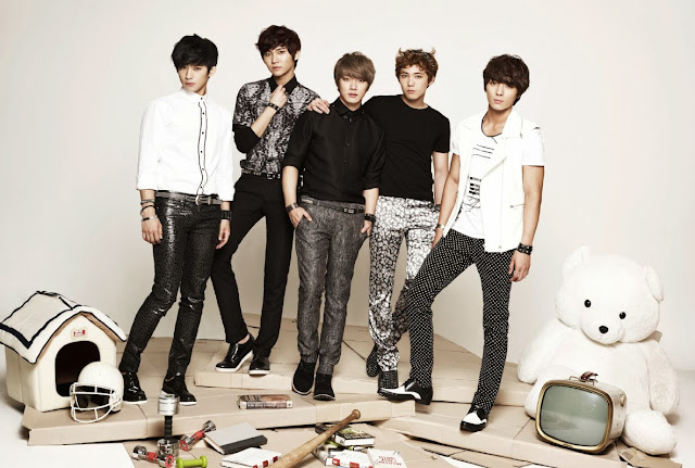 MBC Korean Music Wave in Singapore 2013 FTIsland