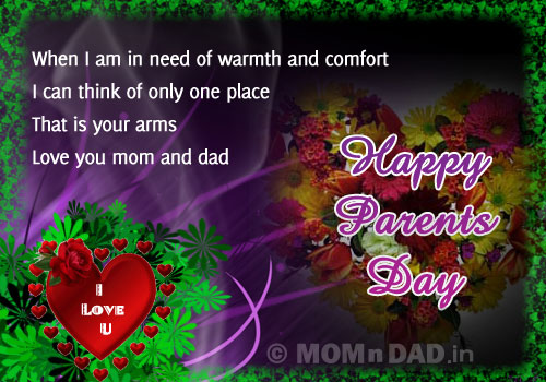 25+ Top Parents Day Message 2016 Happy Parents Day SMS | Happy Parents Day To All