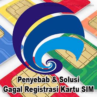 Registrasi kartu SIM selalu gagal? Berikut Penyebab dan Solusinya