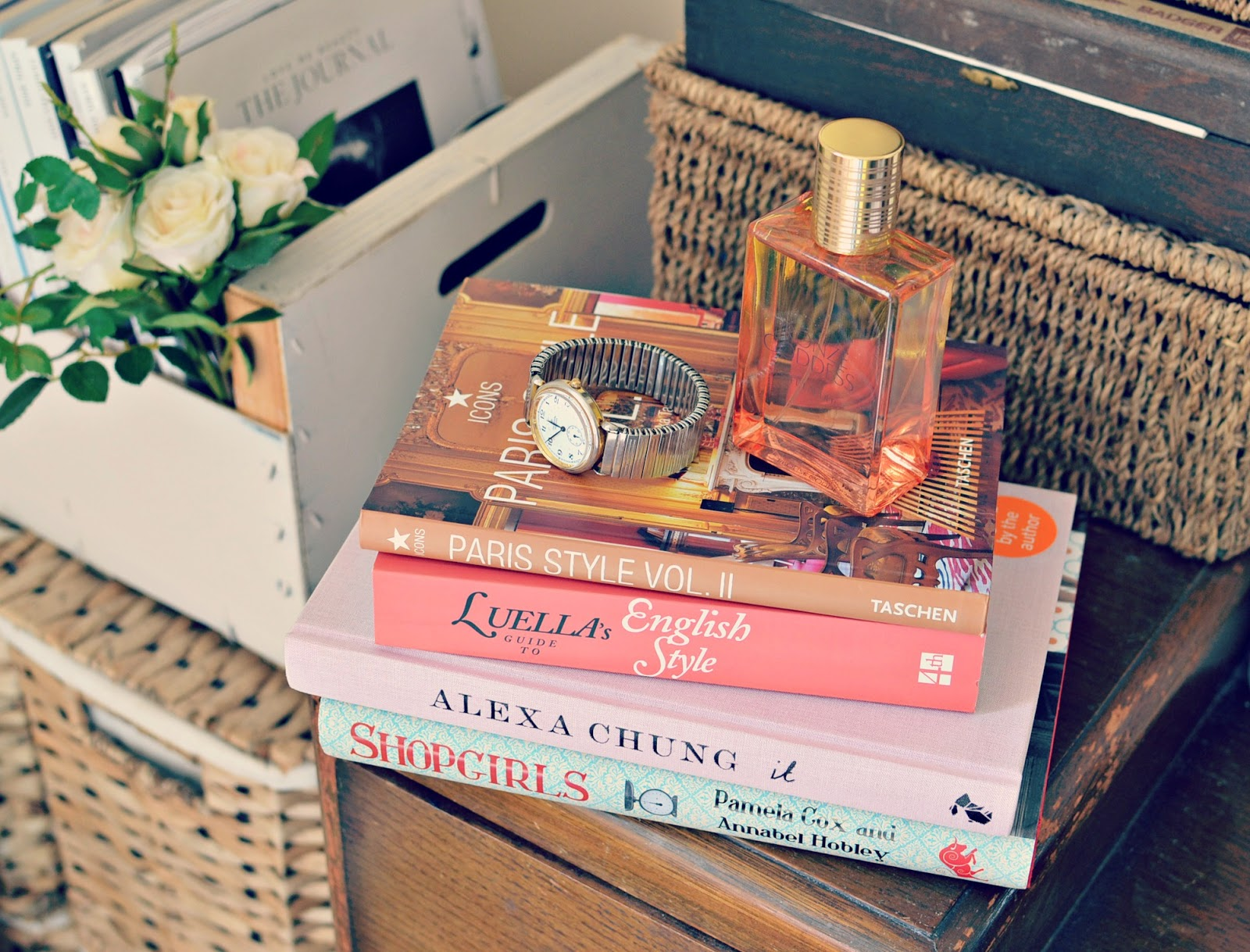 Alexa Chung It, Luella's guide to English Style, Paris interior style, Shopgirls