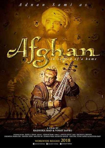 Afghan new upcoming movie first look, Poster of Adnan Sami next movie download first look Poster, release date