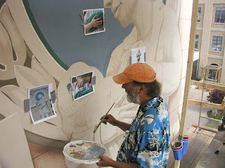 Trompe l'oeil Murals by Eric Grohe