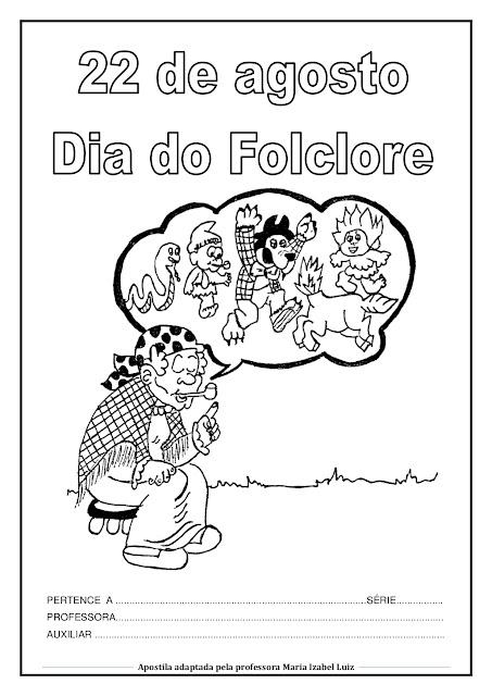 Dia do Folclore Atividades