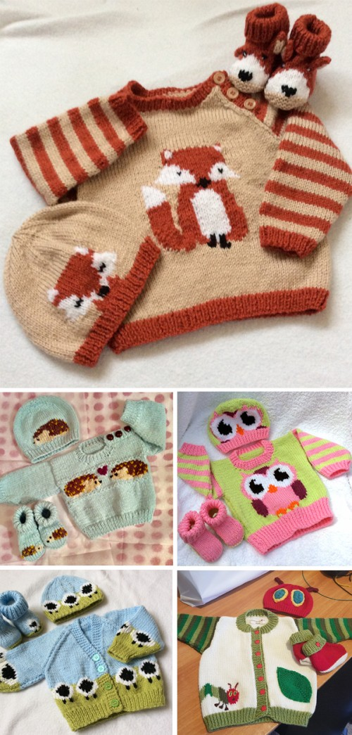Animal Sweater Knitting Patterns