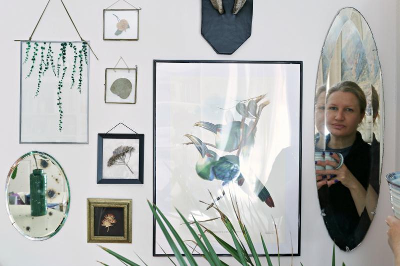 C mo montar espejos vintage sin marco en la pared hampton sc Espejos vintage sin marco