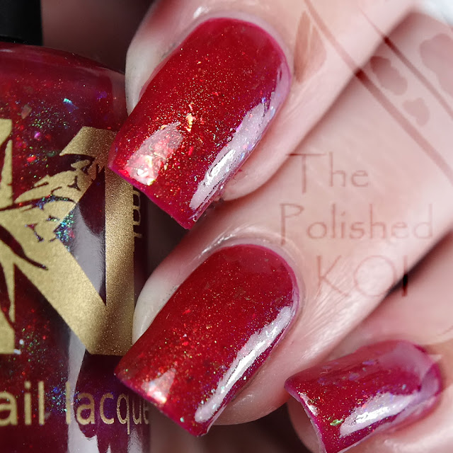 Bee's Knees Lacquer - I Love Me Strawberry Smiggles