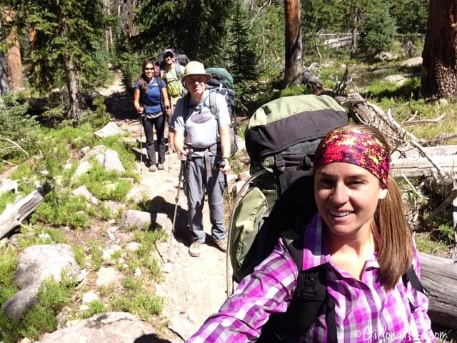 Backpacking to Rock Creek Basin, High Uintas
