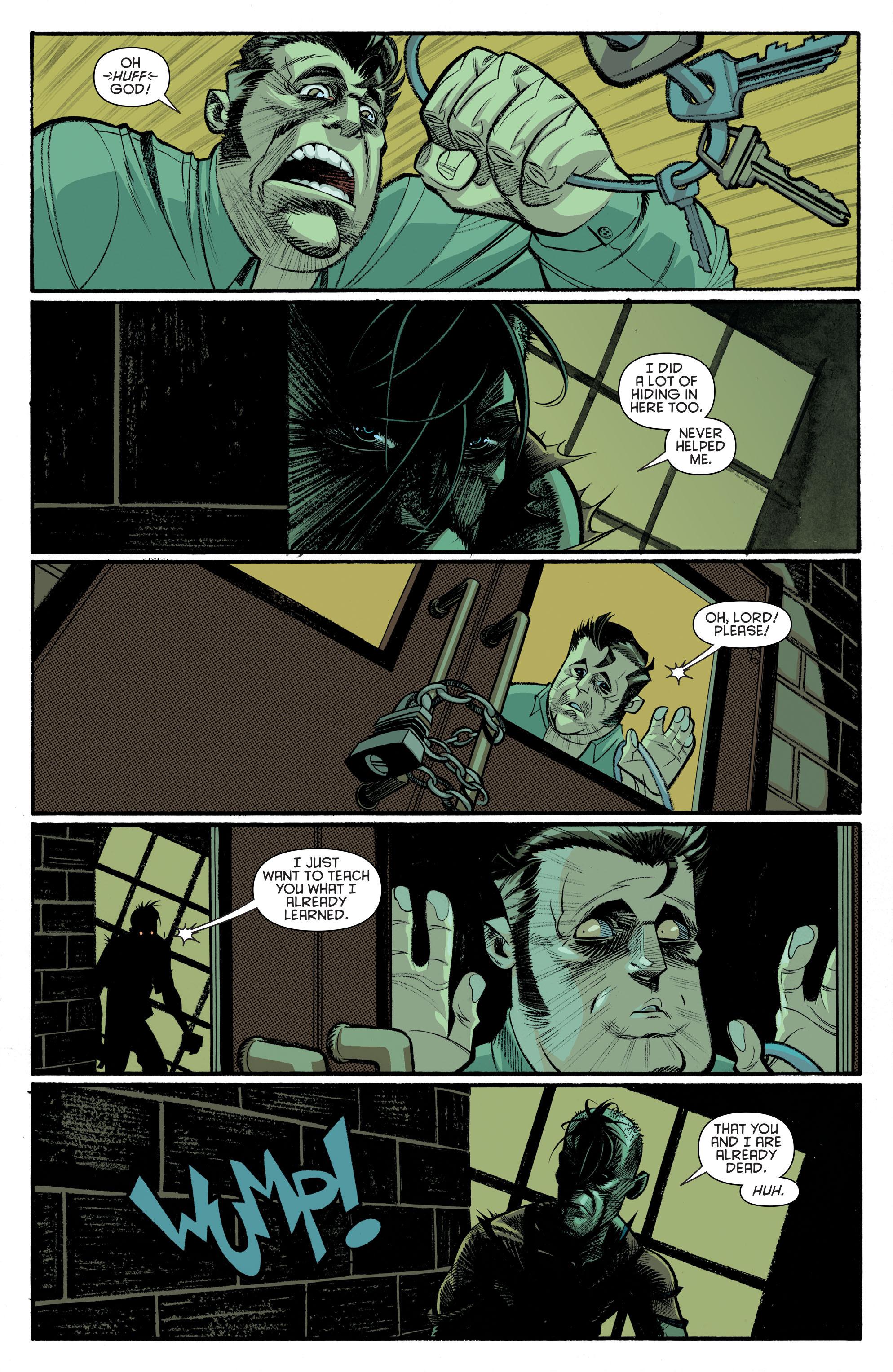 Read online Arkham Manor comic -  Issue #6 - 6