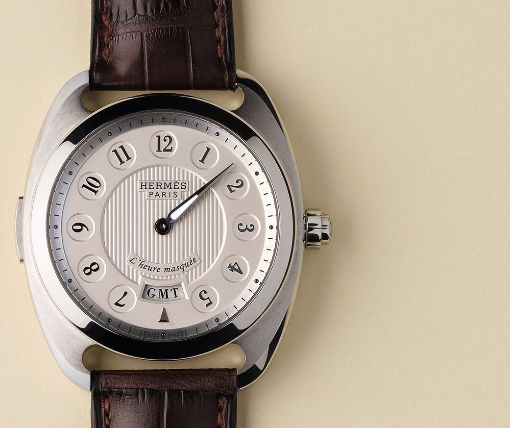 Hermès Dressage L'heure Masque GMT watch