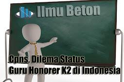 Cpns, Dilema Status Guru Honorer K2 di Indonesia