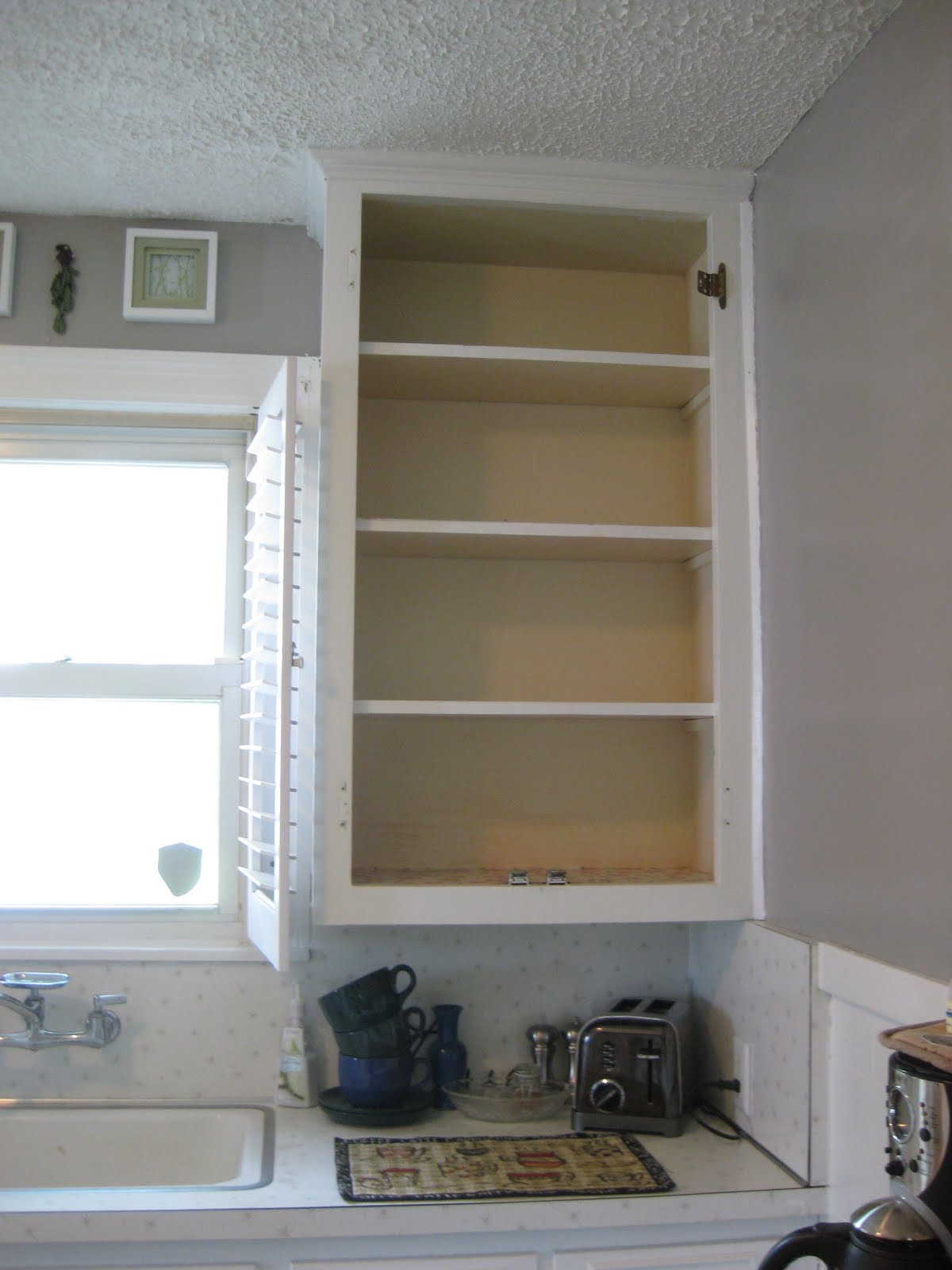 Our House Projects Another Doorless Cabinet