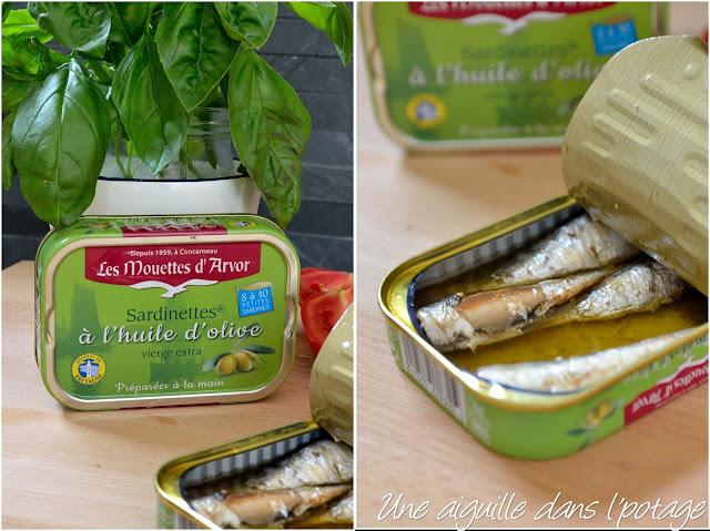 sardinettes à l'huile d'olive Gonidec
