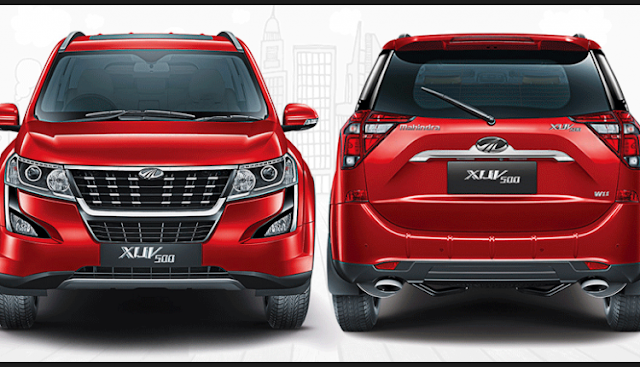 2018 New XUV 500 fornt & rear view