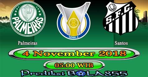 Prediksi Bola855 Palmeiras vs Santos 4 November 2018