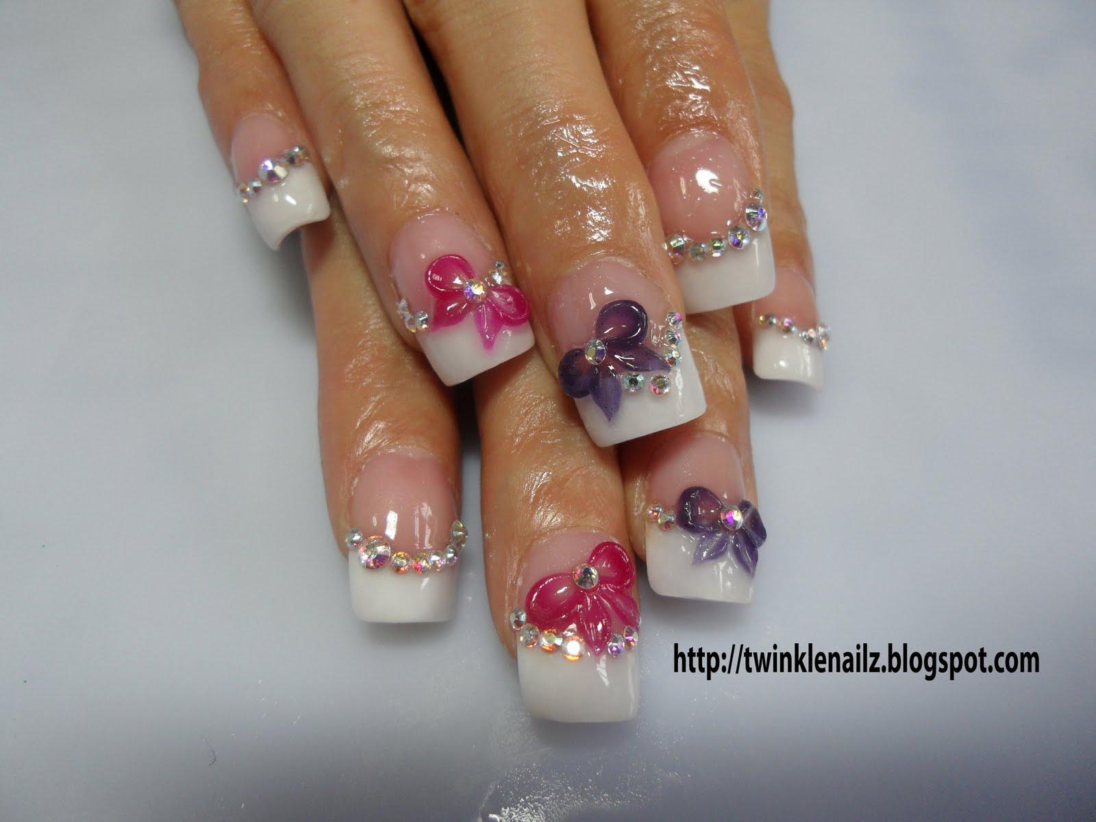 Unique 3d Nail Designs Photos