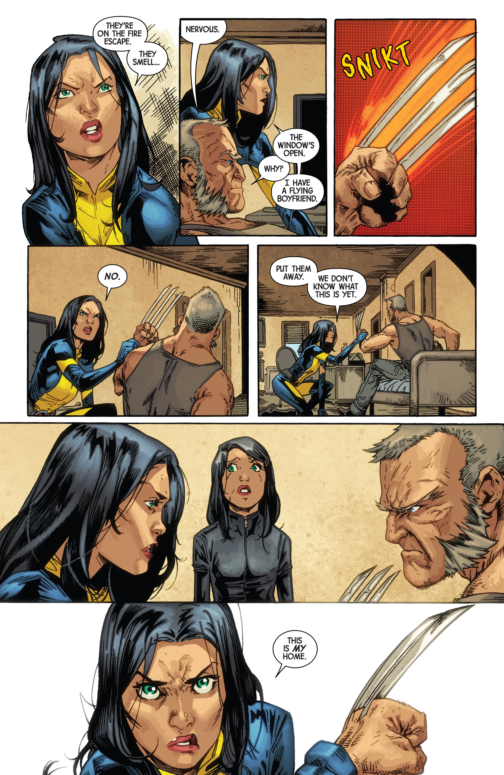 Read online All-New Wolverine (2016) comic -  Issue #10 - 11