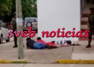 Operativo causa panico en calles del centro de Coatzacoalcos Veracruz