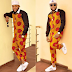 kcee murders fashion again as he steps out in ladies outfit