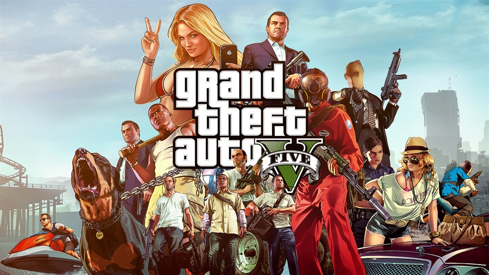 Grand Theft Auto V PC Download Poster