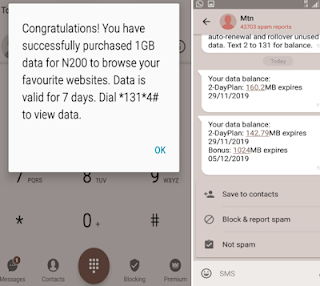 How to get 1gb with N200 on mtn