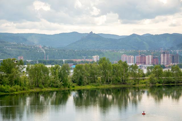 Красноярск горы